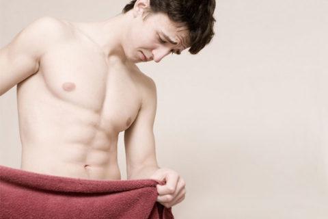 Боль в мошонке может указывать на наличие осложнений