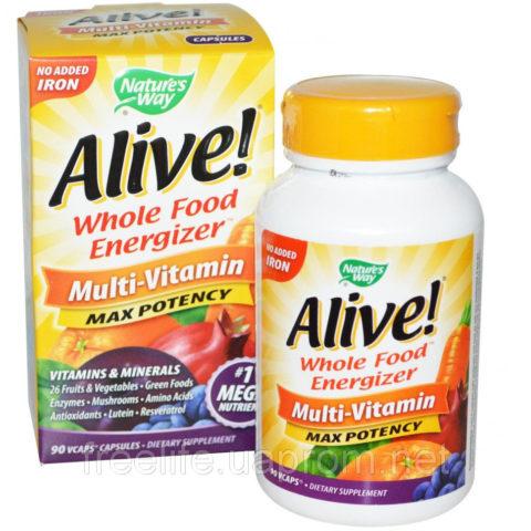 Витамины и минералы, Alive