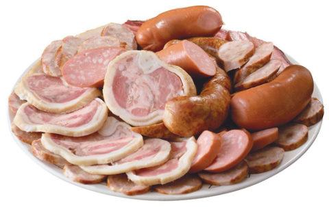 Жирная пища животного происхождения