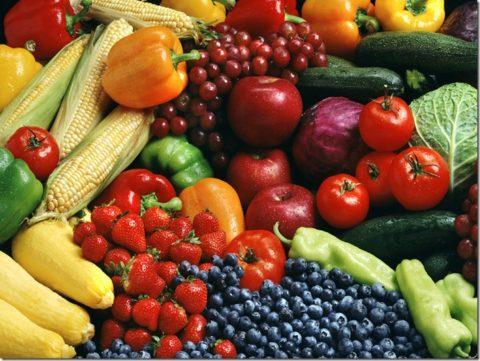 Полезная растительная пища