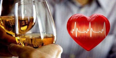 В умеренных дозах алкоголь полезен для сердца, в больших крайне вреден