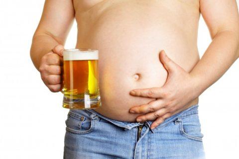 Значительное потребление пива приводит к ожирению и изменению гормонального фона