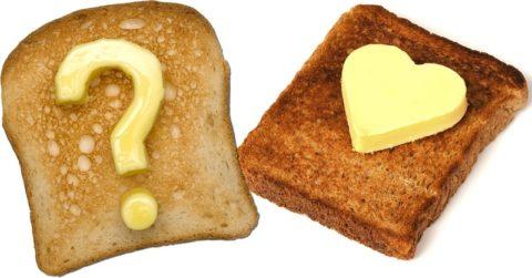 Гренки с маслом источник холестерина