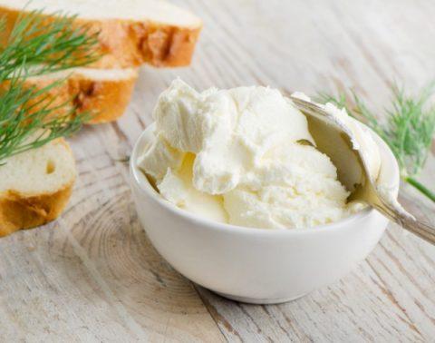 Сливочный сыр из сметаны