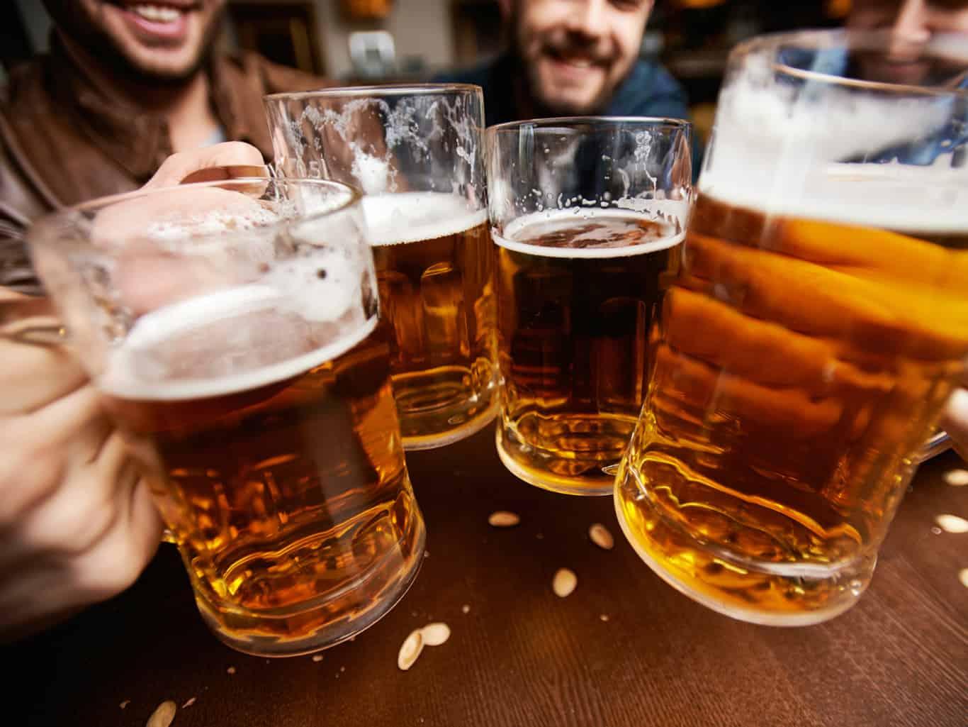 Не употреблять алкоголь натощак