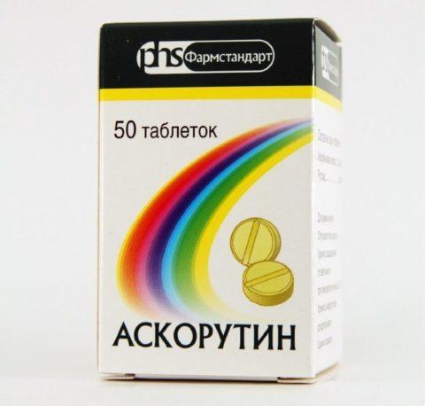 Аскорутин, таблетки
