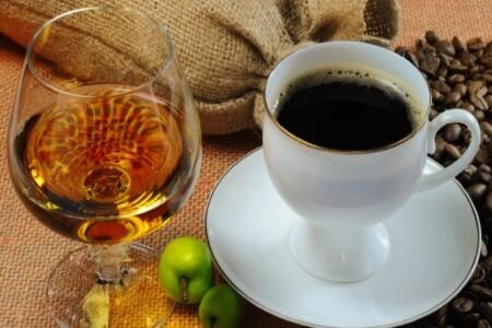 Коньяк и кофе