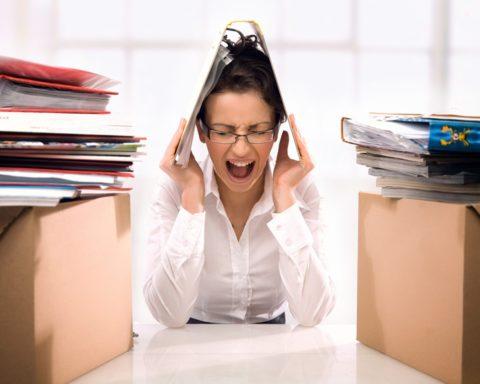 Хронический стресс на работе