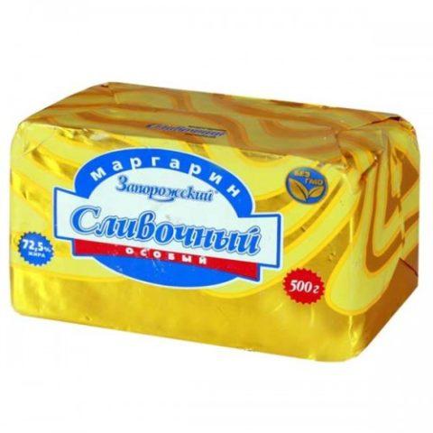 Содержание холестерина в маргарине зависит от количества в нем животных жиров